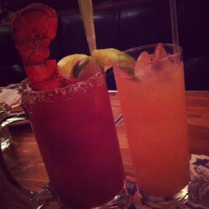 Caesar and Ribbons & Swallows cocktail