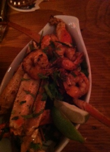 jerk shrimp and crab legs