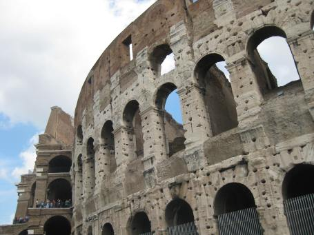 The Colosseum in Rome was pretty freakin' cool to visit