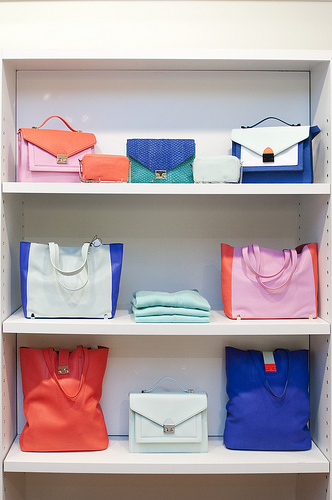 Augustina Boutique handbags Loeffler Randall and Rebecca Minkoff